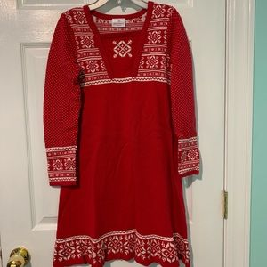 Hannah Andersson Fair Isle Sweater Dress